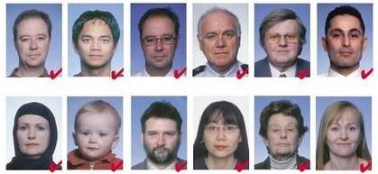 онлайн фото на загранпаспорт нового образца требования 2015 - фото 6