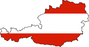 austrian-flag-map