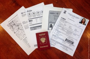 Образец заполнения тайской анкеты для визы
