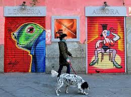 Мадрид украсят многочисленными граффити